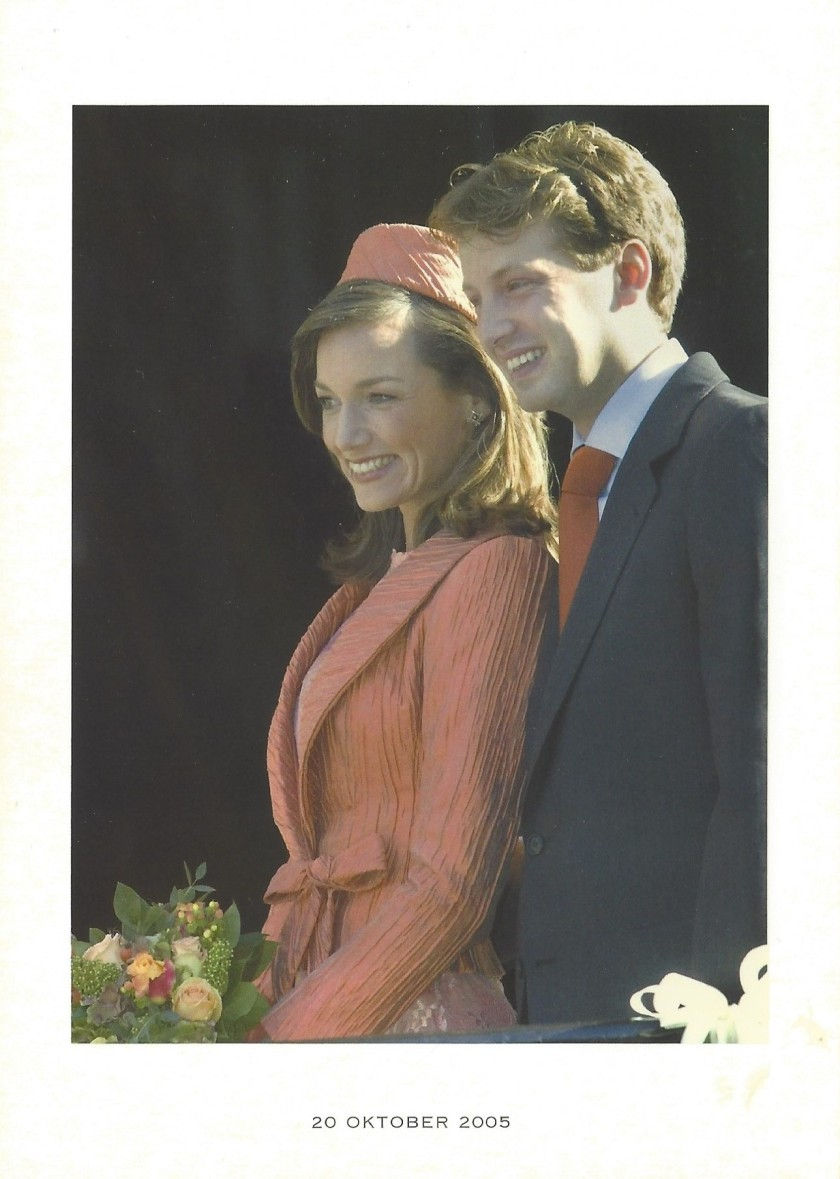 Wedding of Prince Floris and Princess Aimée Civil Wedding Picture