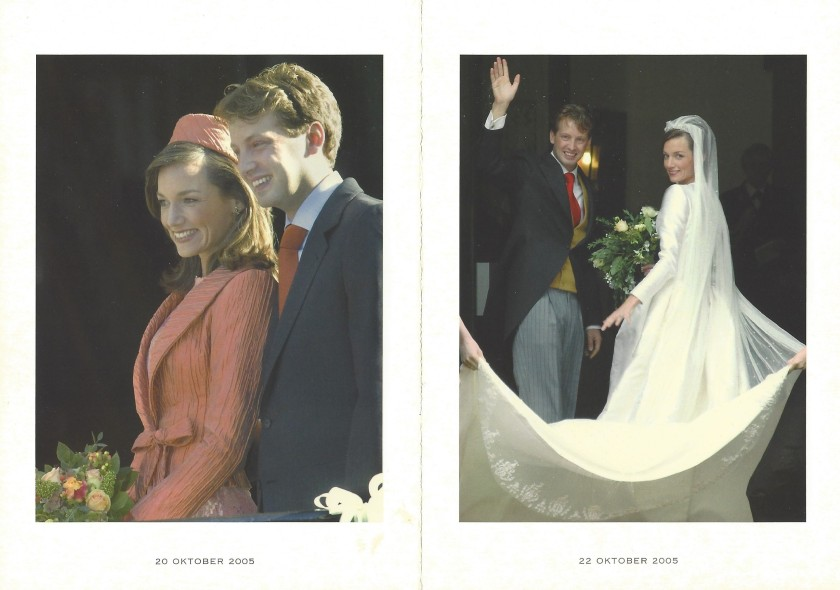 Wedding of Prince Floris and Princess Aimée Pictures