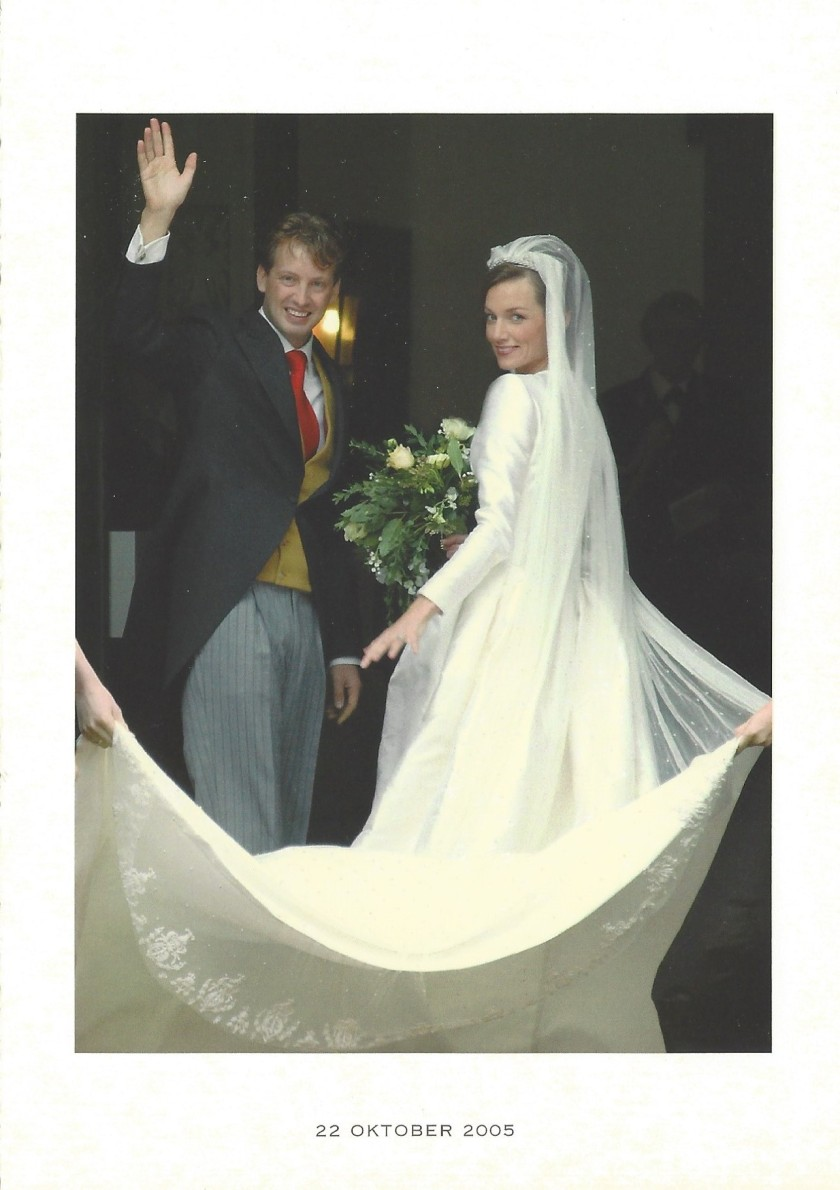 Wedding of Prince Floris and Princess Aimée Religious Wedding Picture