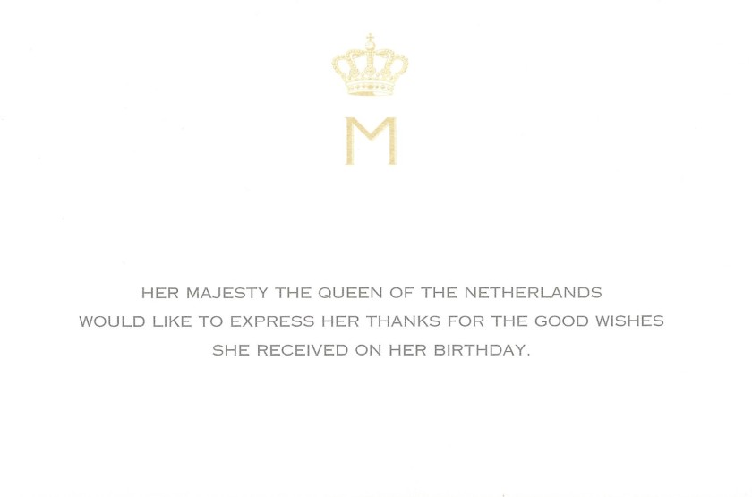 Máxima, The Queen of the Netherlands 49th Birthday