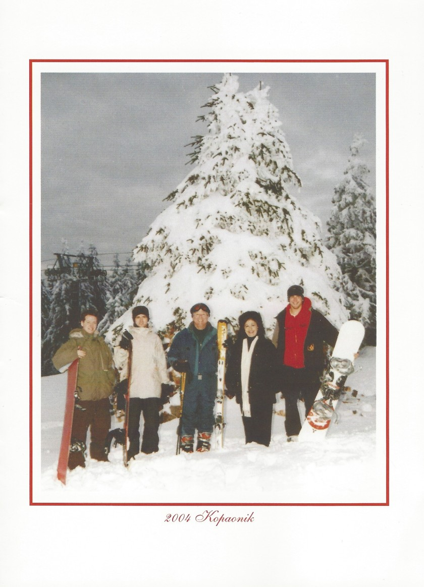 Serbia Chriostmas Card Picture