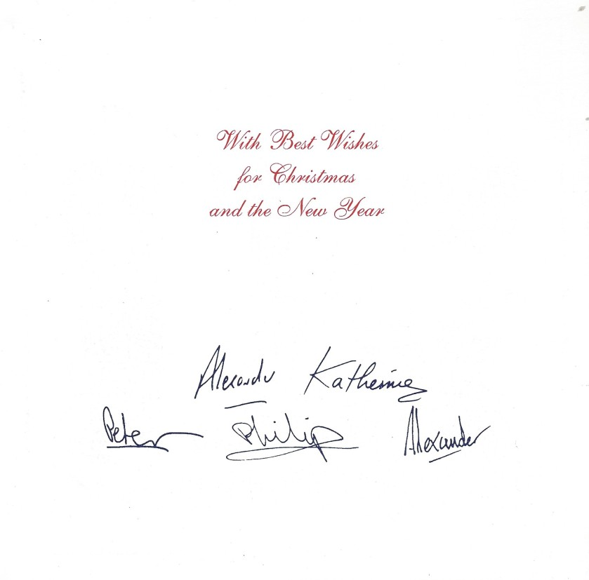 Serbia Christmas Card Message 2003