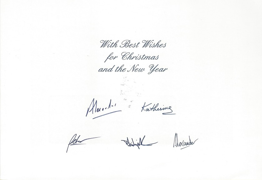 Serbia Christmas Card Message 2007