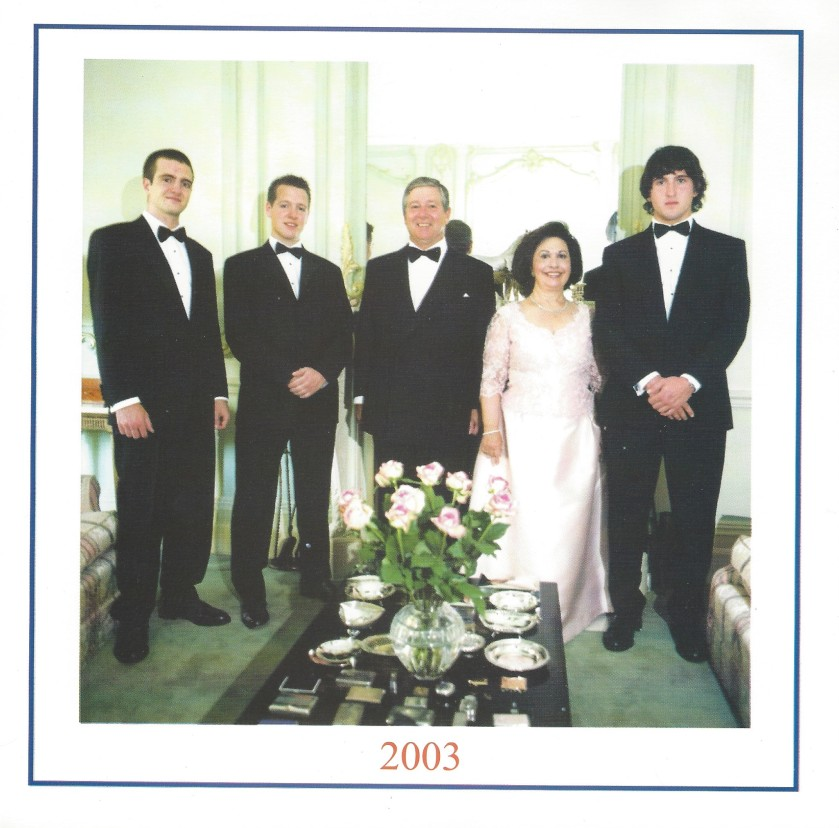 Serbia Christmas Card Picture 2003