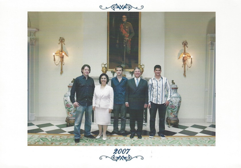 Serbia Christmas Card Picture 2007