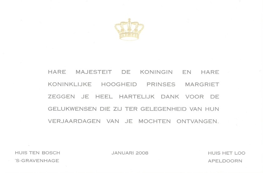 Beatrix and Margriet of the Netherlands 70th and 65th Birthdays