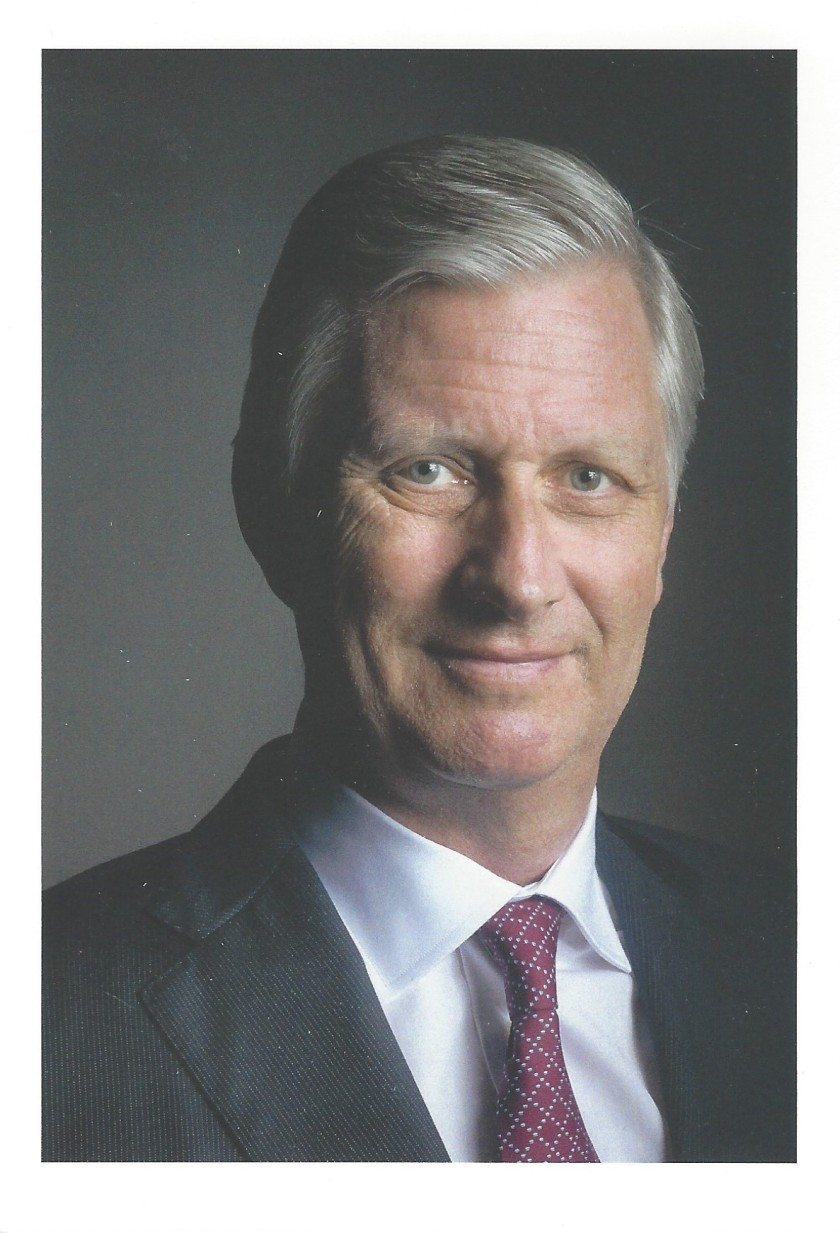 Philippe King of The Belgians 60th Birthday Card Picture