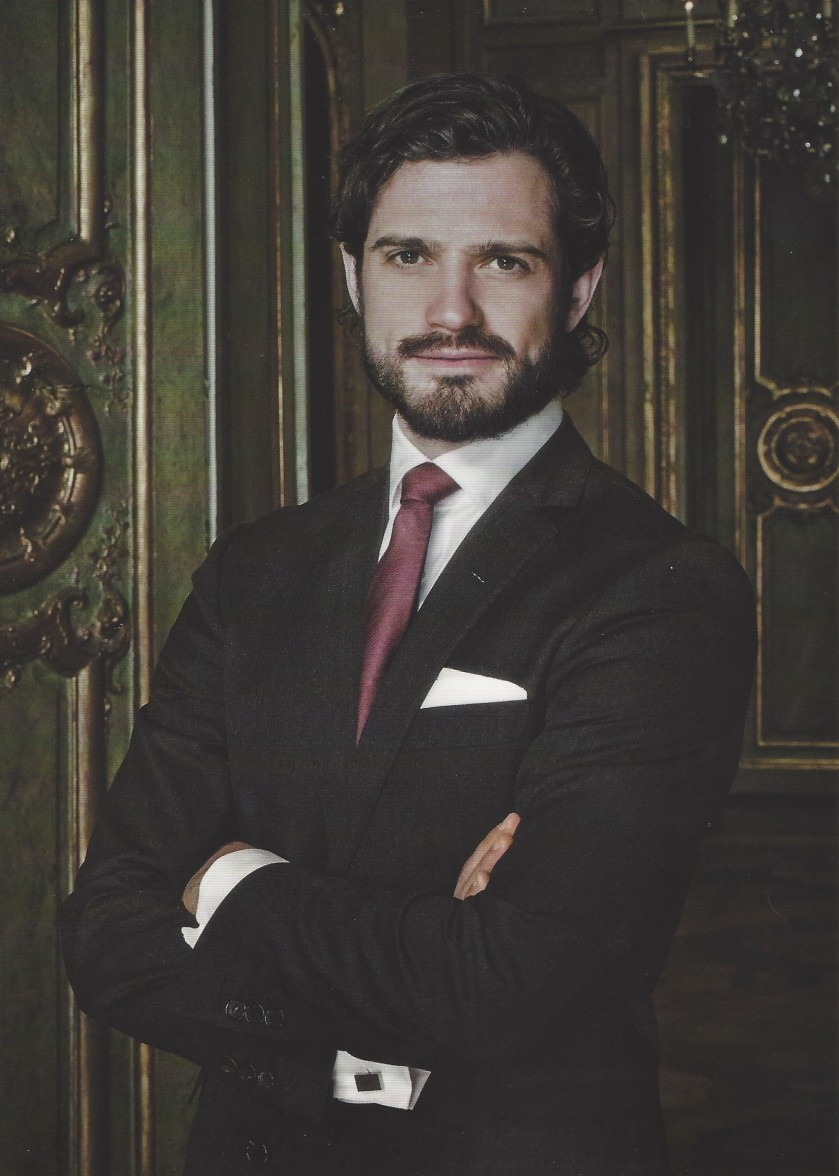 Prince Carl Philip of Sweden 41st Birthday Picture Front