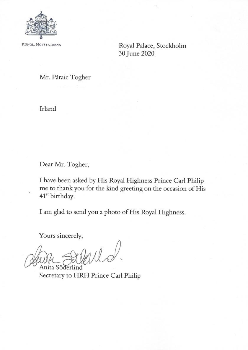 Prince Carl Philip of Sweden 41st Birthday_LI