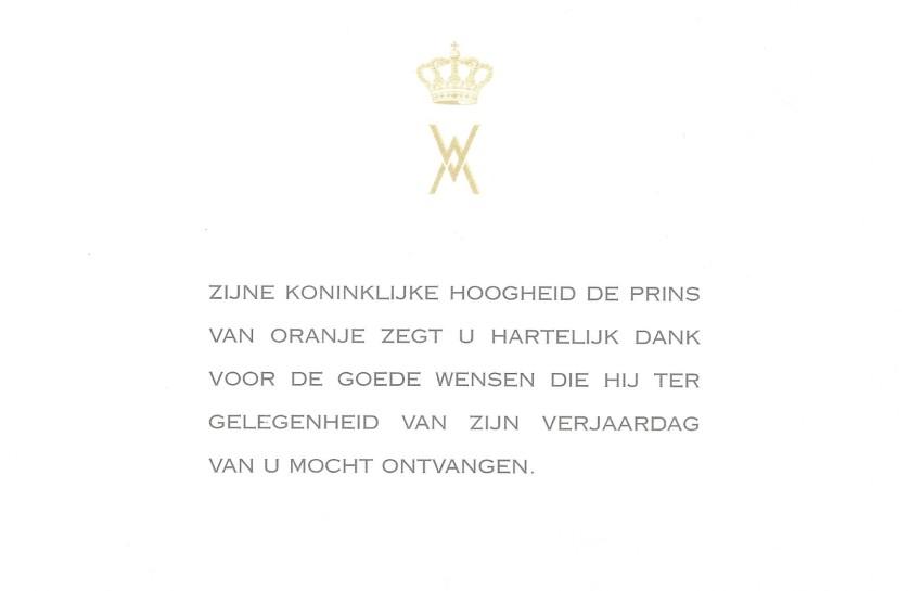 Willem-Alexander 36th Birthday