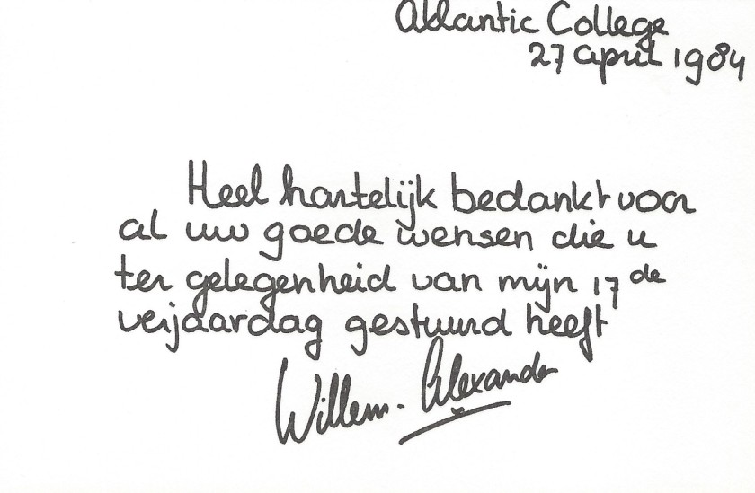 Willem-Alexnader's 17th Birthday