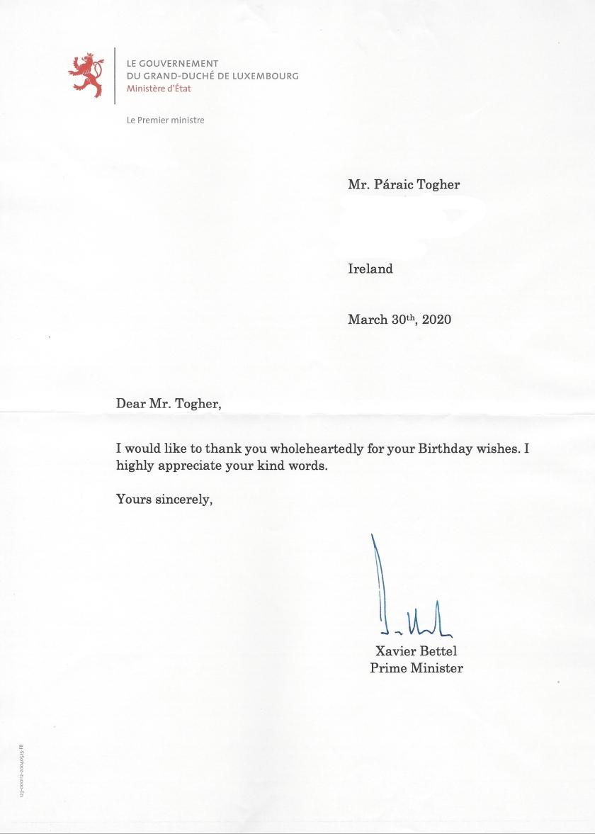Xavier Bettel, Prime Minister of Luxembourg Birthday_LI