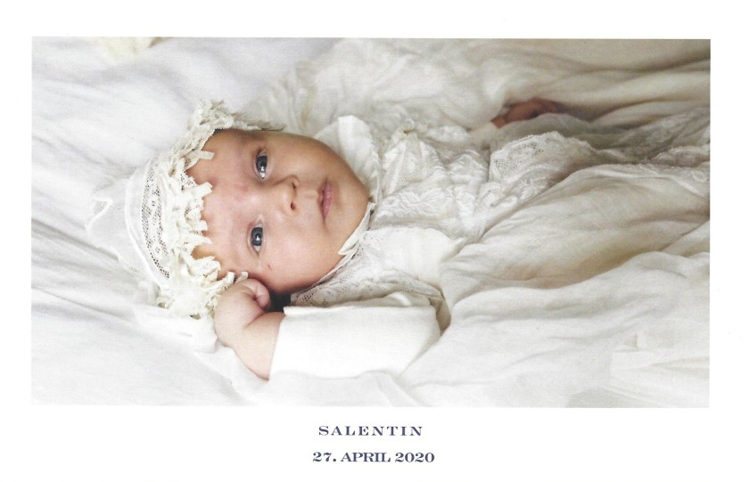 Birth of Prince Salentin of Sayn-Wittgenstein-Sayn Picture