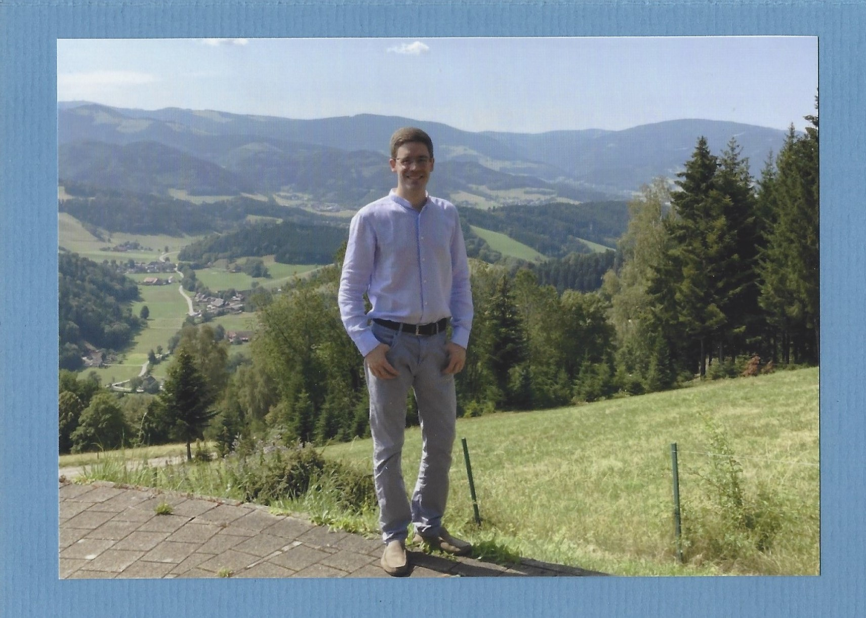 Mecklenburg Card Hereditary Prince Picture