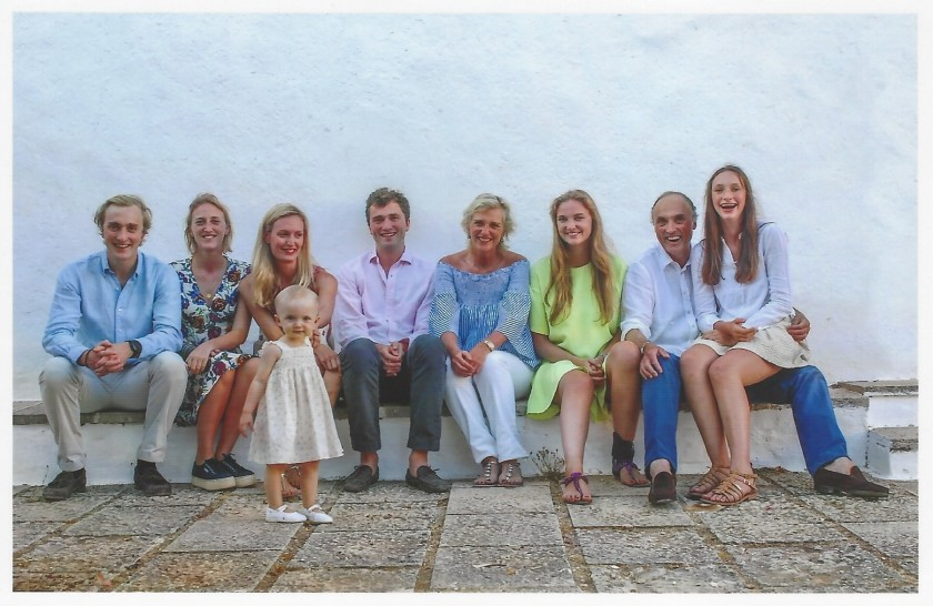 Prince Lorenz and Princess Astrid of Belgium Family Photo